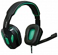 Гарнитура Defender Warhead G-275 Black/Green (64122)