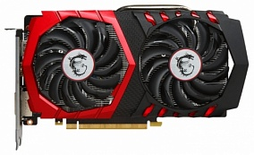 Видеокарта nVidia GeForce GTX1050 Ti MSI PCI-E 4096Mb (GTX 1050 Ti GAMING X 4)