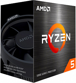 Процессор AMD Ryzen 5 5600X BOX (100-100000065BOX)